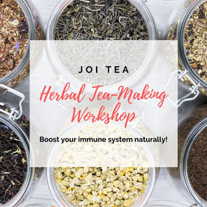 Herbal Tea-Making Workshop - Boost your immune system naturally!