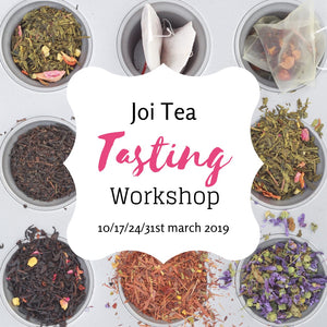 Joi Tea Tasting Workshop