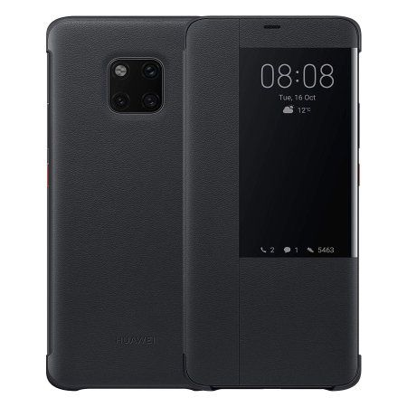 Huawei Mate 20 PRO Smart View Flip Cover Black