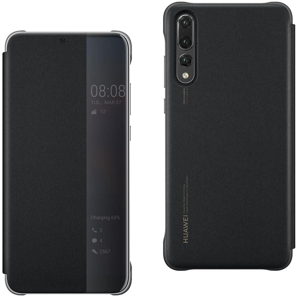 HUAWEI P20 PRO Smart View Flip Cover Black