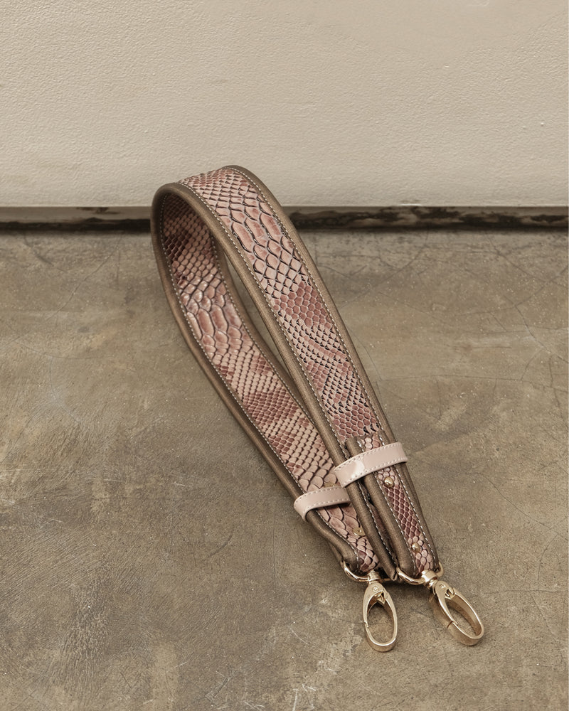 SHOULDER STRAP — LAVENDER/ALMOND
