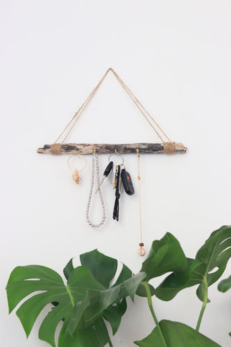 Large Driftwood Jewelry Hanger