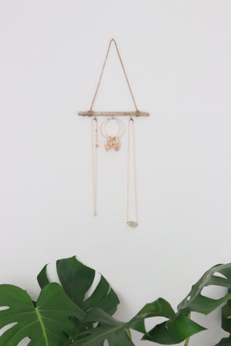 Mini Driftwood Jewelry Hanger