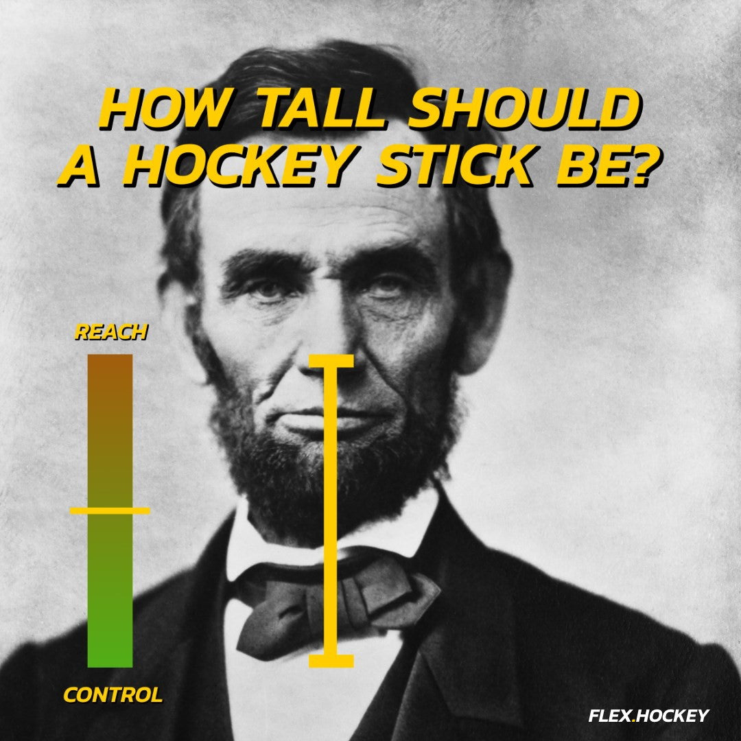 hockey stick height chart