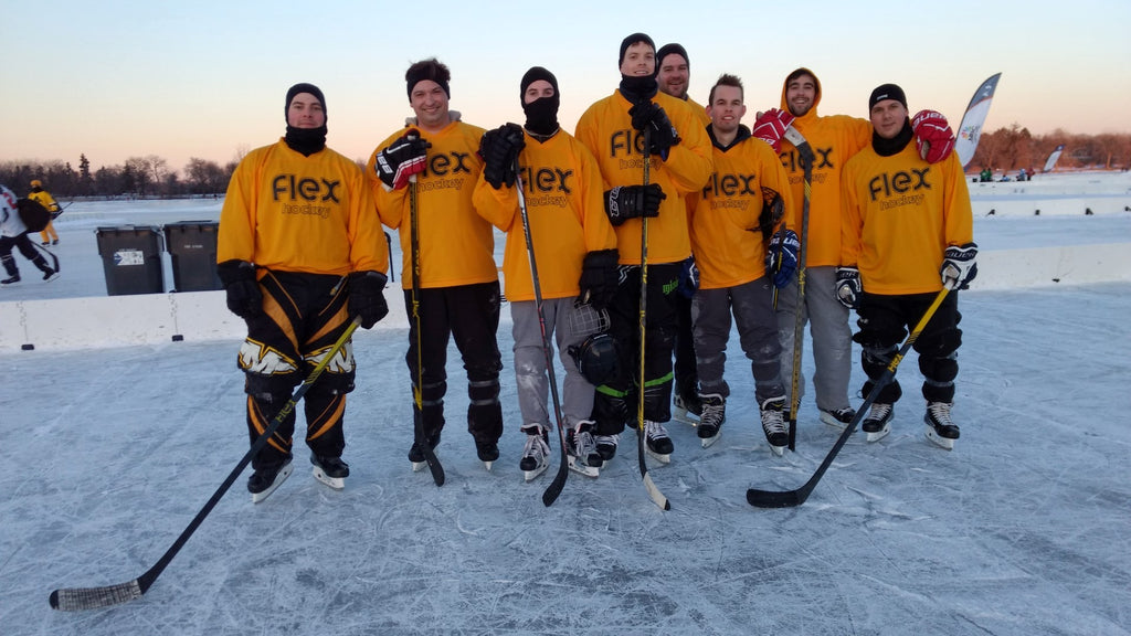 Flex Hockey Team at US Pond Hockey Championship