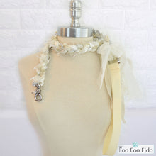 Ivory Wedding Dog Leash