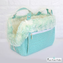 Diamonds are Forever Tiffany Blue Designer Pet Carrier Purse