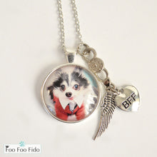 Personalized Pet Necklace, Pendant or Keychain Angel Baby