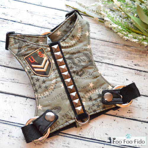 Army Brat Harness Vest