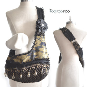 Gold and Black Gypsy Sling