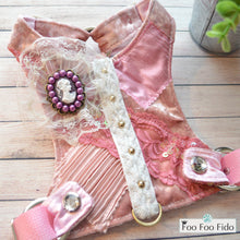 Pink Velvet Courtney Harness