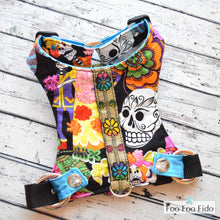Sugar Skull Harness in Black