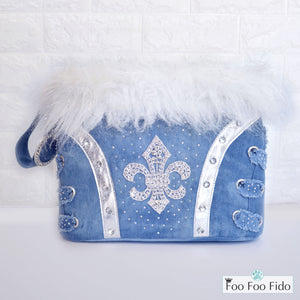 Fleur de Lis Small Dog Bag