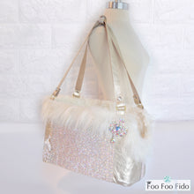 Diamonds are Forever Gold Designer Pet Carrier Purse