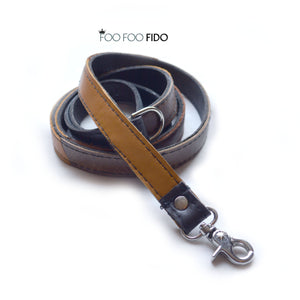 Custom Matching Leash in Leather