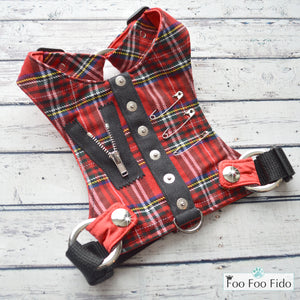 Hot for Teacher Vest Red Plaid
