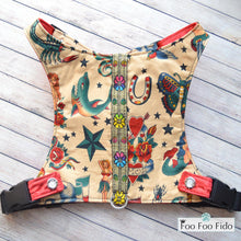 Sailor Jerry Tattoo Harness Vest