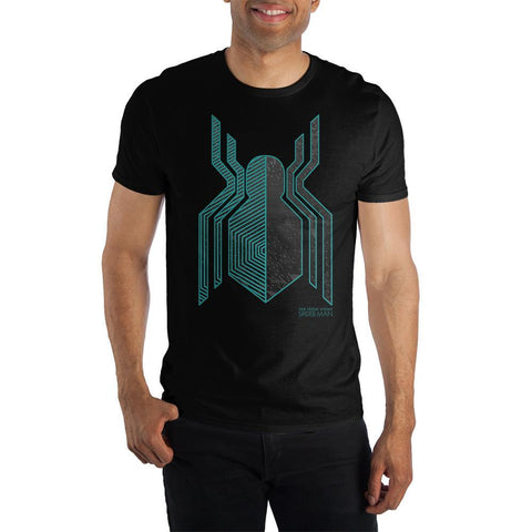 Marvel Spider-Man: Far From Home Stealth Suit Symbol Short-Sleeve T-Shirt - SPNDER, LLC