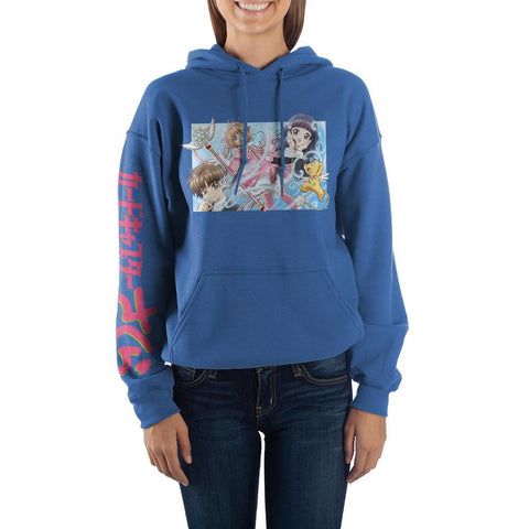 Card Captor Anime Fleece Womens Graphic Hoodie - SPNDER, LLC
