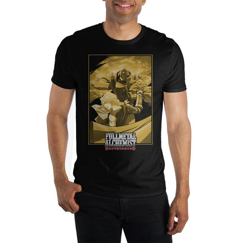 Full Metal Alchemist Anime Mens Graphic Tee - SPNDER, LLC