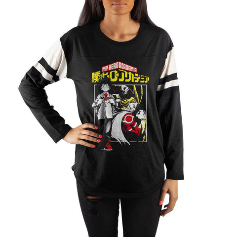 My Hero Academia Anime Women's Graphic Tee - SPNDER, LLC