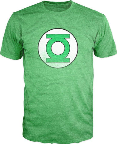 DC Comics Green Lantern Heather Tee Shirt T-Shirt - SPNDER, LLC