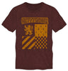 Harry Potter Gryffindor Element of Fire Men's Burgundy T-Shirt - SPNDER, LLC
