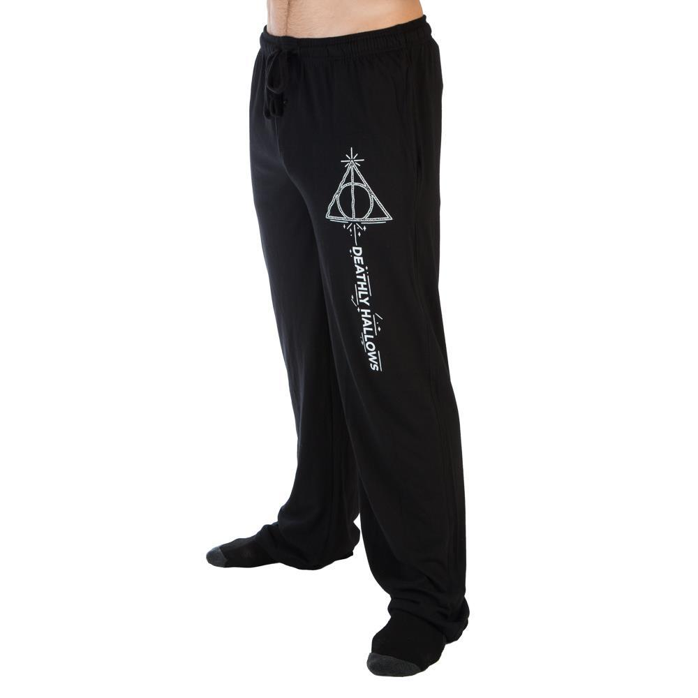 Harry Potter Deathy Hallows Sleep Lounge Pants - SPNDER, LLC