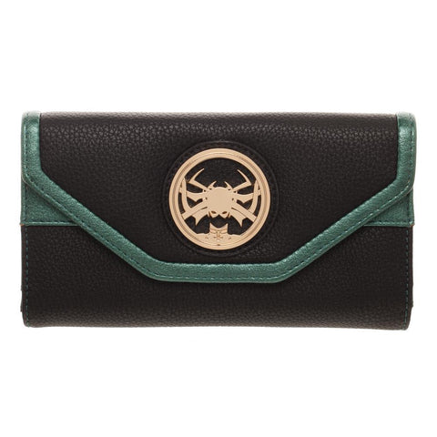 Marvel Wallet Inspired by Hela - Marvel Thor Wallet Hela - Hela Thor Ragnarok Wallet - SPNDER, LLC
