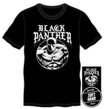 Marvel Comics Black Panther Men's Black T-Shirt Tee Shirt - SPNDER, LLC