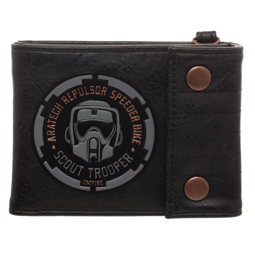 Men's Endor Scout Trooper Bifold Wallet - SPNDER, LLC