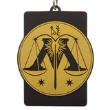 Harry Potter Hogwarts School of Witchcraft And Wizardry Wide Strap Lanyard ID Badge Holder - SPNDER, LLC