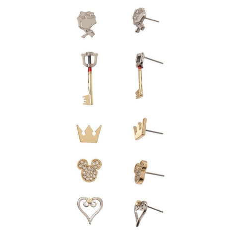 Kingdom Hearts Earrings Video Game Jewelry - SPNDER, LLC