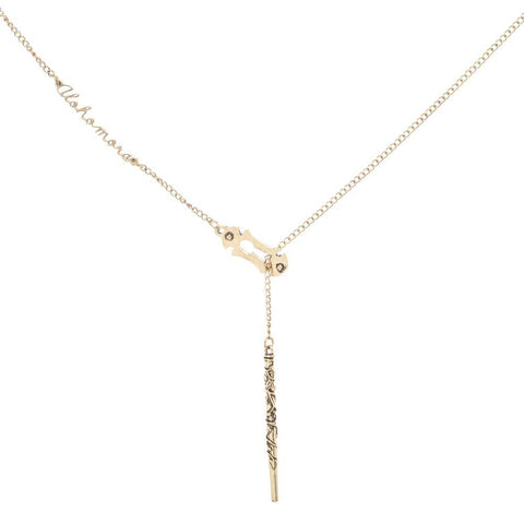Harry Potter Alohomora Lariat Charm Necklace - SPNDER, LLC