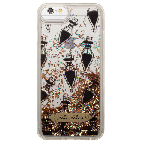 Harry Potter Felix Felicis Clear iPhone 6 7 8 Phone Case - SPNDER, LLC