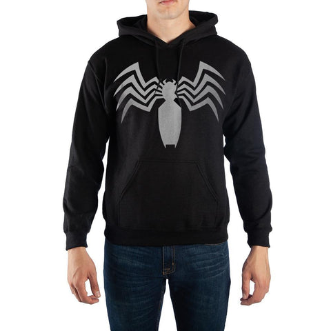 Marvel Venom Logo Hooded Sweatshirt - SPNDER, LLC