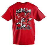 DC Comics Justice League Japanese Text Boys T-Shirt - SPNDER, LLC