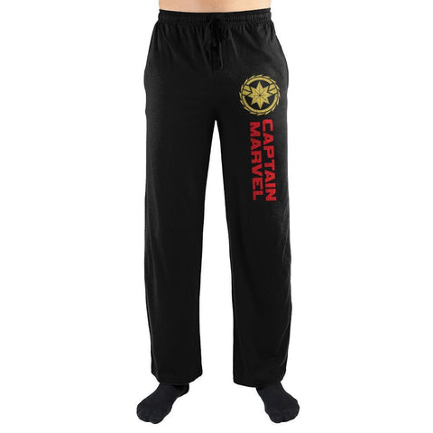 Marvel Clothing Captain Marvel Sleep Pajama Pants Pajamas - SPNDER, LLC