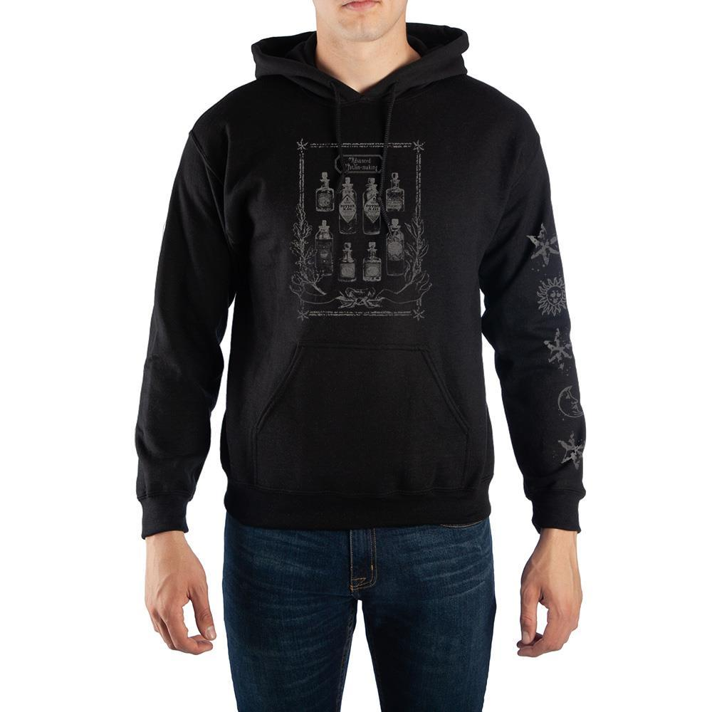 Harry Potter Potions Pullover Hooded Sweatshirt - SPNDER