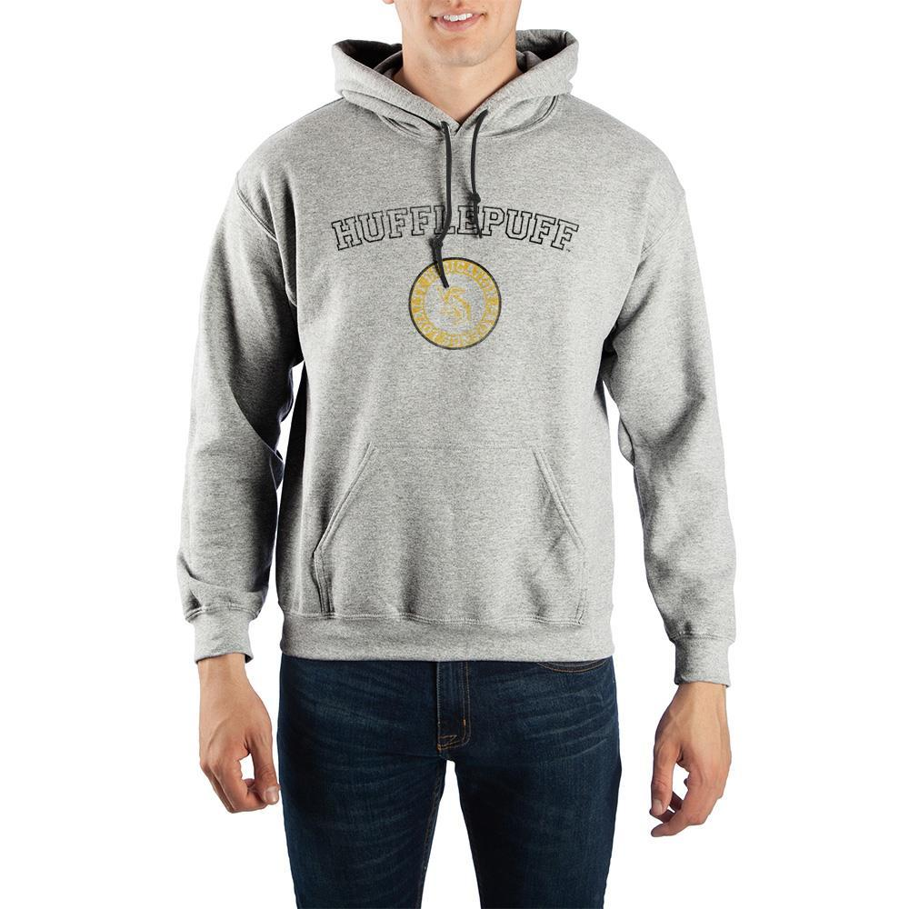 Harry Potter Hufflepuff Values Pullover Hooded Sweatshirt - SPNDER