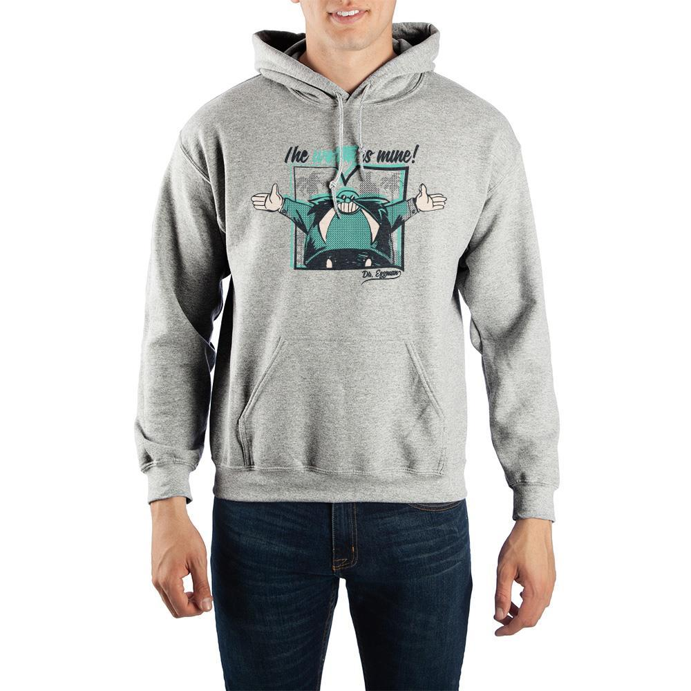 Sonic The Hedgehog Dr. Eggman Pullover Hooded Sweatshirt - SPNDER