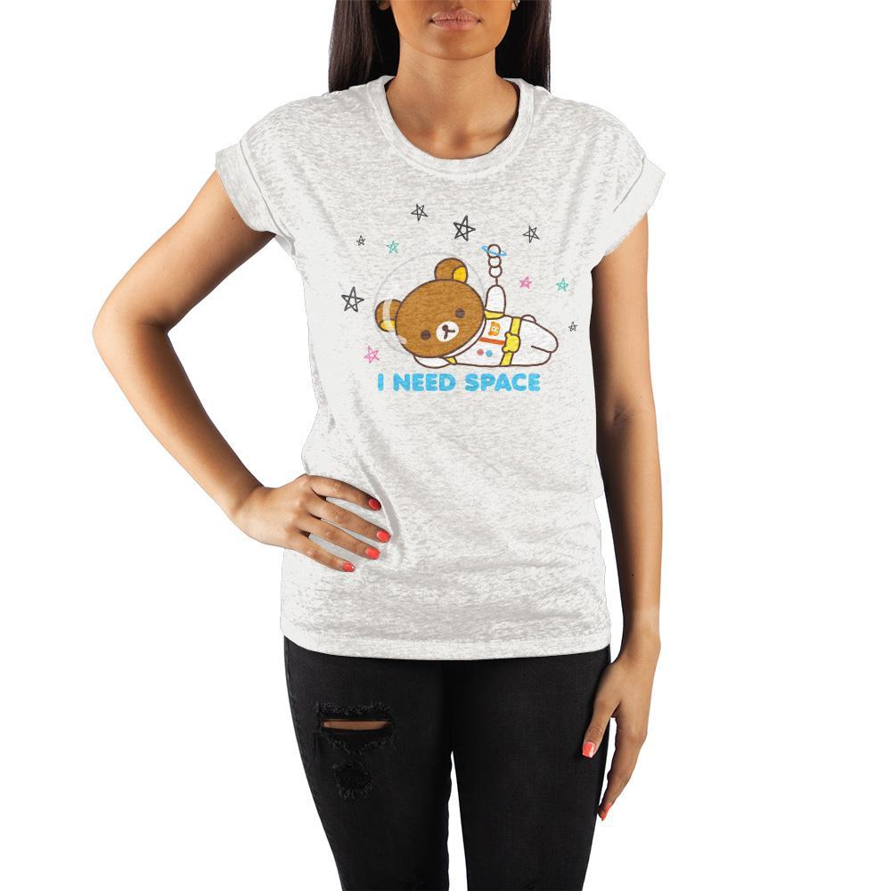I Need Space Rilakkuma Juniors Graphic Tee - SPNDER, LLC