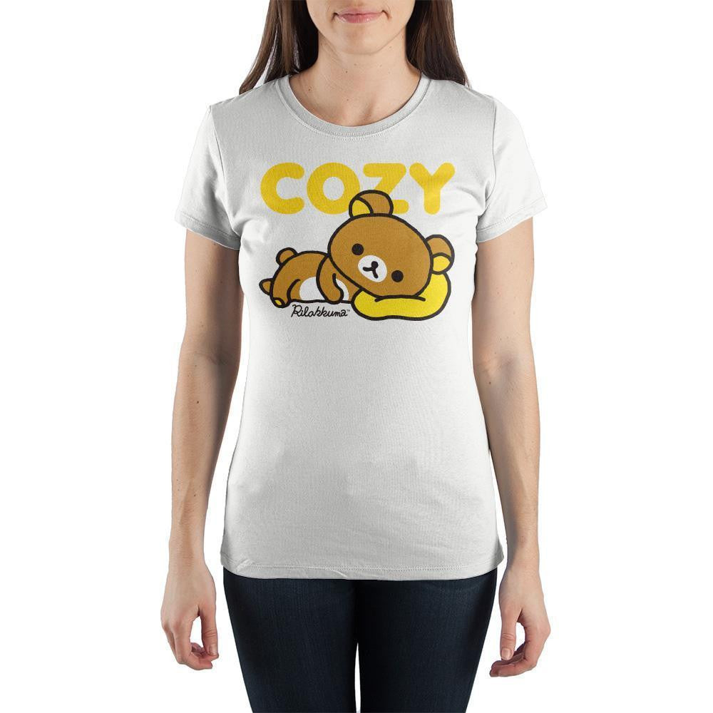 Cozy Rilakkuma Shirt Juniors Anime Apparel - SPNDER, LLC
