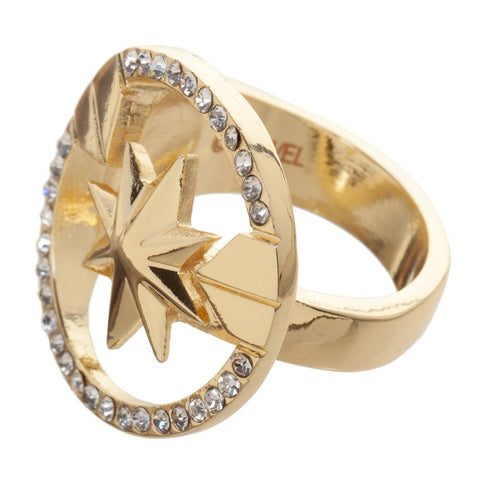 Marvel Accessories Captain Marvel Ring Jewelry - SPNDER