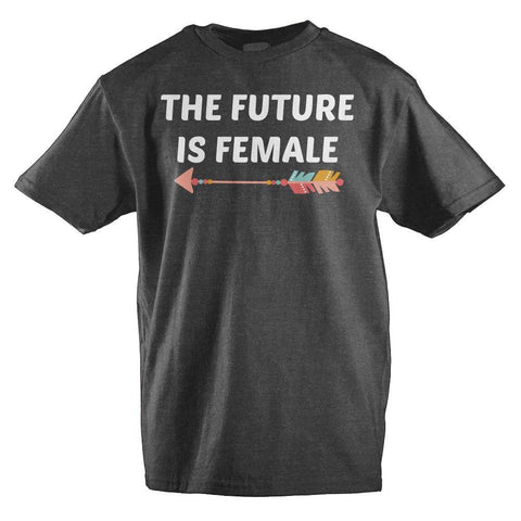 The Future is Female Graphic Tee Kids Clothing - SPNDER, LLC