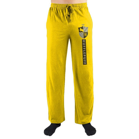 Harry Potter House Hufflepuff Emblem Pajama Pants - SPNDER, LLC