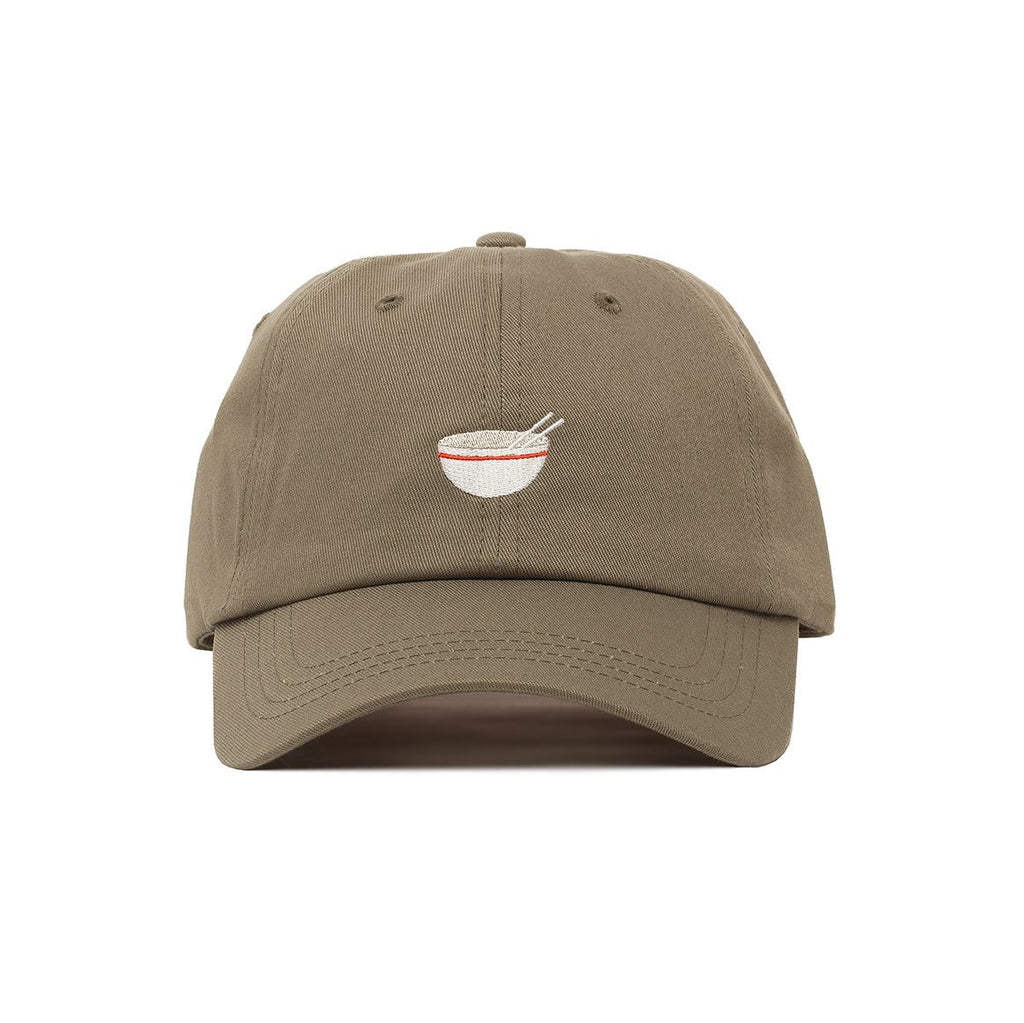 Comfortable Embroidered Noodle Head Dad Hat - SPNDER