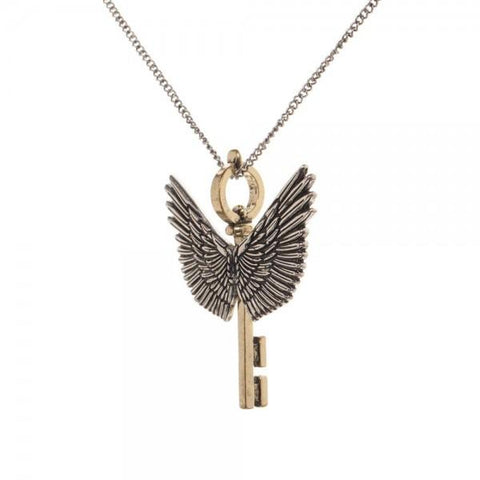 Harry Potter Flying Key Necklace - SPNDER, LLC