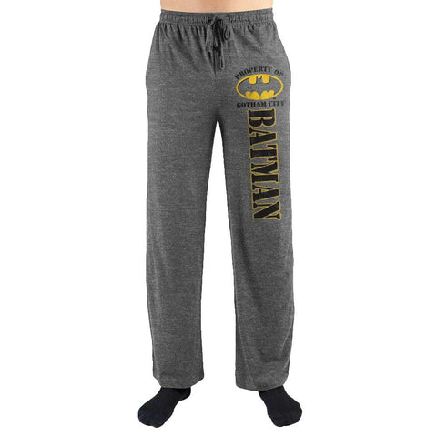 Property Of Gotham City Leg Sleep Pants - SPNDER, LLC