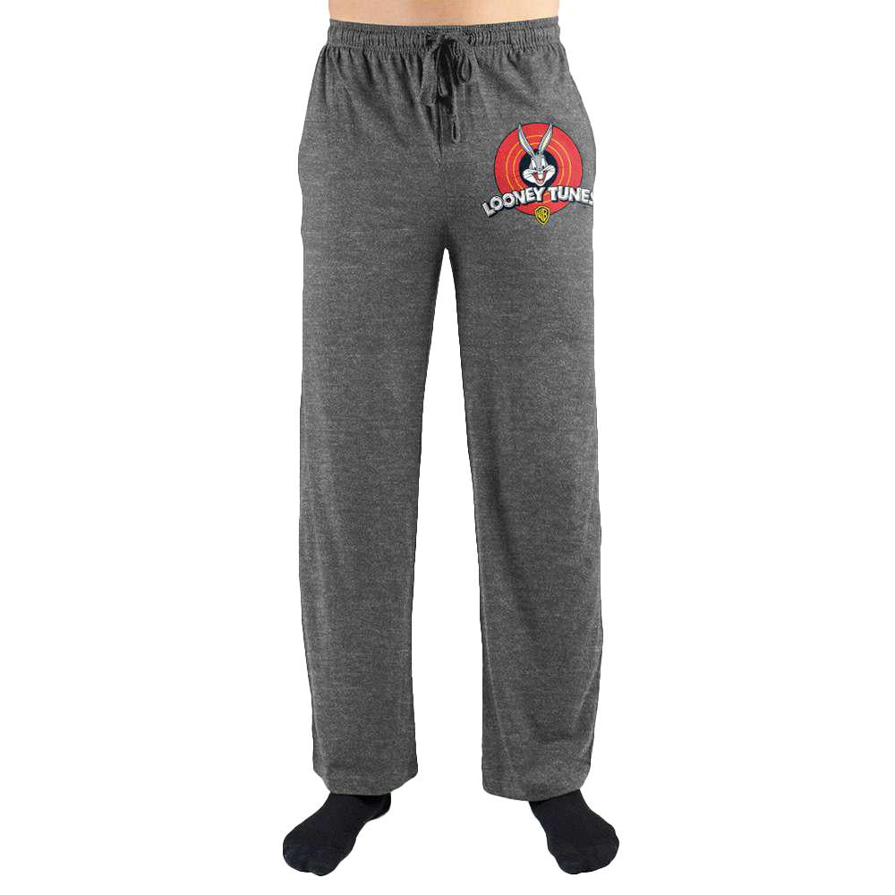 Looney Tunes Logo Print Men's Loungewear Lounge Pants - SPNDER, LLC